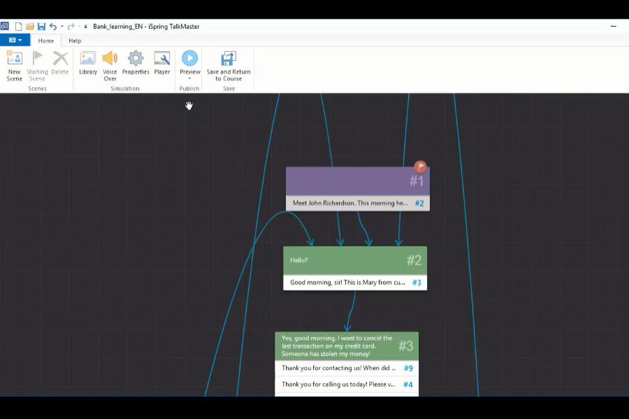 iSpring Suite  视频教程:如何创建对话模拟