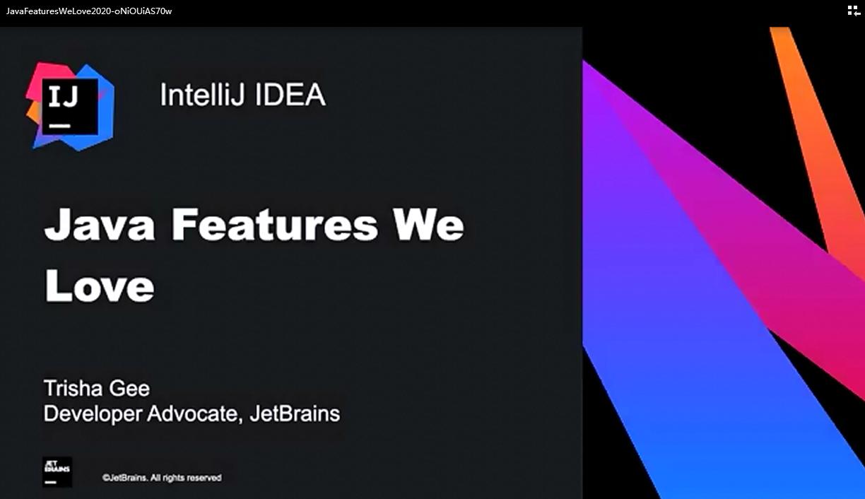IntelliJ IDEA视频教程:我们喜欢的Java功能(2020)