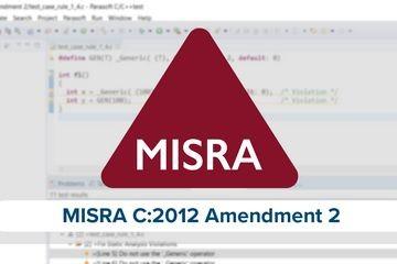 备受期待的MISRA C:2012(修订版2)现已发布