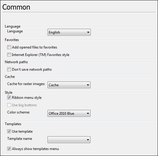 通用CAD图纸处理软件ABviewer2020最新基础教程:通用设置