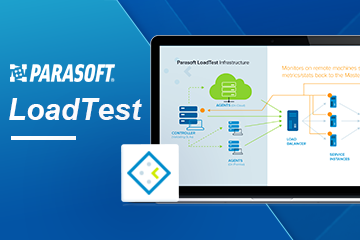 Parasoft SOAtest with Load Test