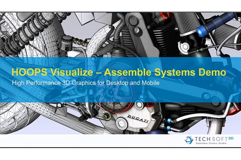 HOOPS Visualize装配系统演示