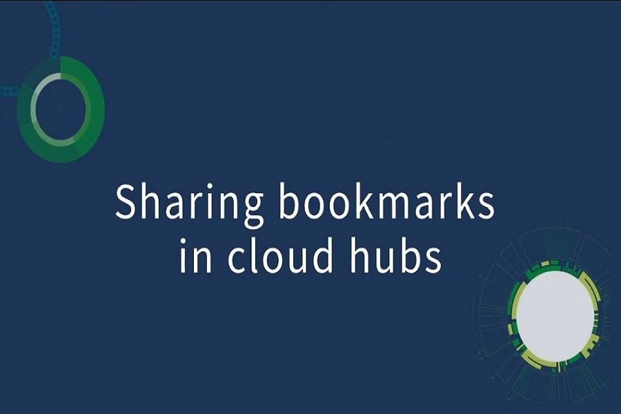 Qlik2020最新视频教程: 在云中心中共享书签