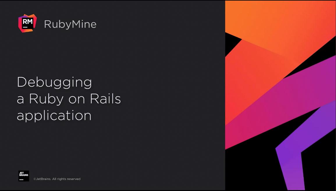RubyMine视频教程(六):RubyMine的主要调试功能