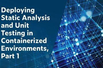 在容器化环境中部署静态分析和单元测试(1):如何为容器化开发环境配置Parasoft C/C++test 2020.1