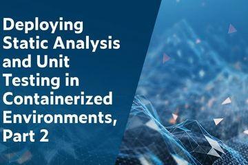 在容器化环境中部署静态分析和单元测试(2):如何使用Parasoft C/C++test创建容器映像
