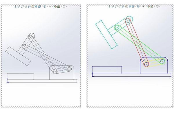 如何给SolidWorks草图块添加不同颜色