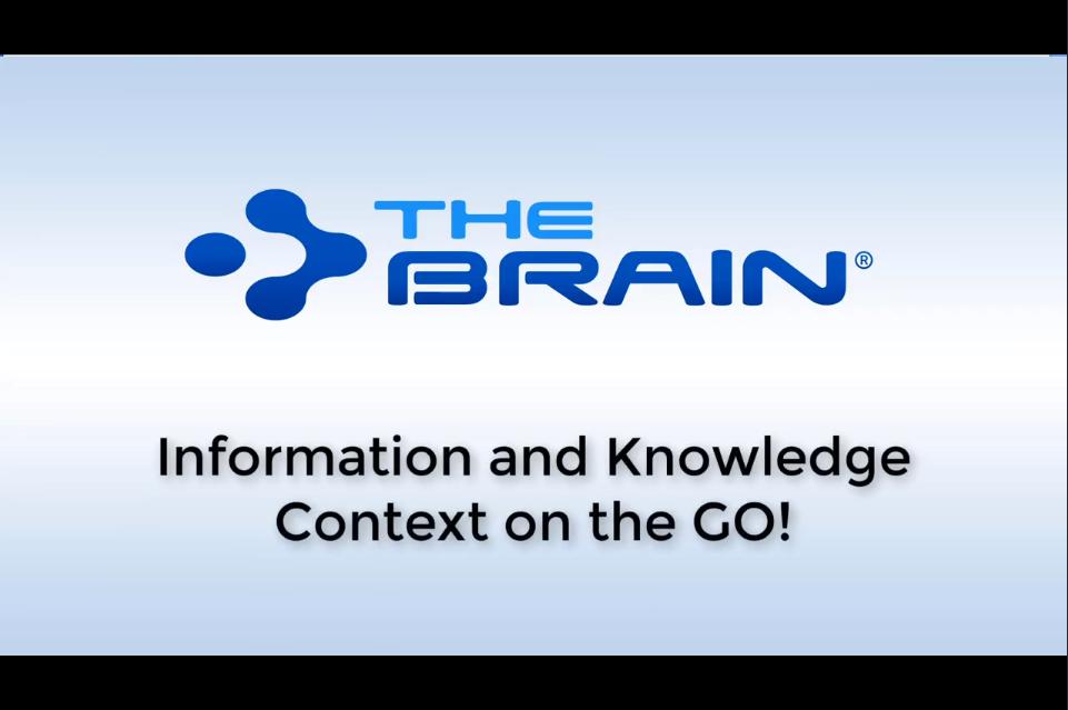 随时随地记录信息!看专家如何巧妙使用TheBrain获取更多知识信息