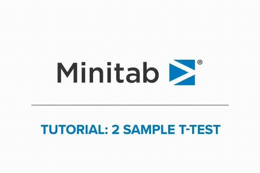 Minitab视频教程:如何创建2样本t检验?