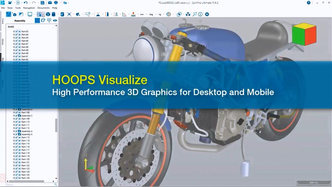HOOPS Visualize产品介绍