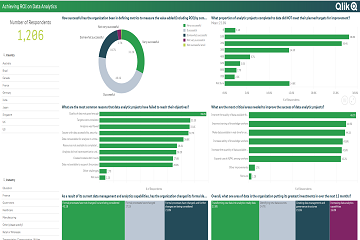 Qlik评估工具助力企业评估数据到见解的能力和差距,从而提高底线绩效