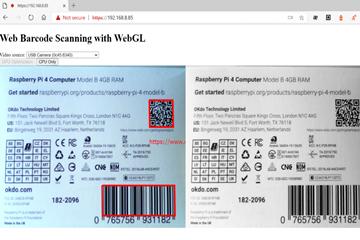 Dynamic Web TWAIN教程:如何使用WebGL加快Web条形码的解码速度