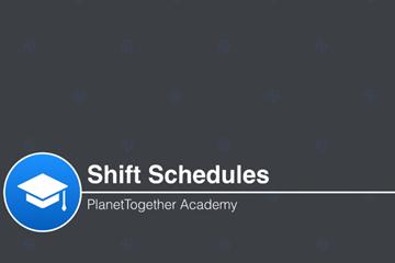PlanetTogether APS视频教程:修改机器和人工轮班时间表