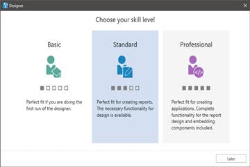你的技术水平是哪层?报告和仪表板工具Stimulsoft人性化界面选项,助你快速入手!