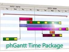 phGant Time Package控件常见问题解答(一)