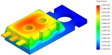 SOLIDWORKS Simulation热力分析的工程应用 | 实例讲解
