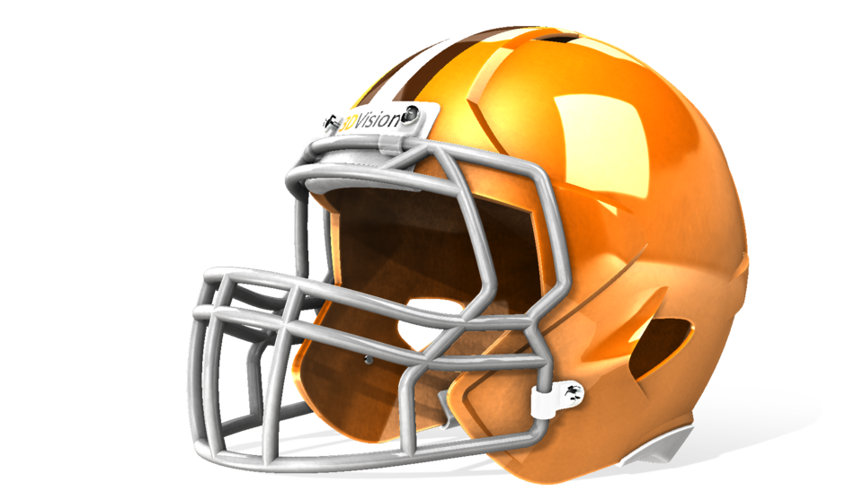 SolidWorks模型免费下载:橄榄球头盔
