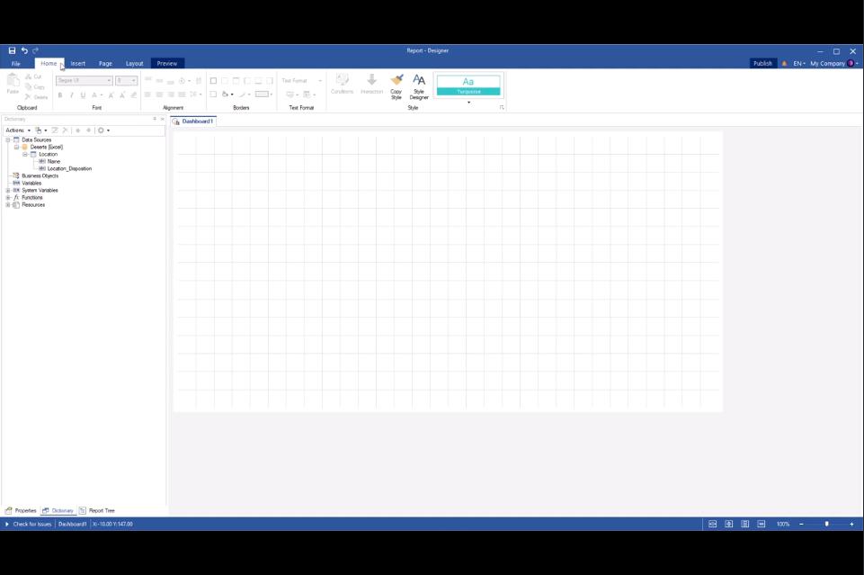 Stimulsoft仪表板开发工具2020最新视频教程(1):在在线地图上使用GIS(地理信息系统)