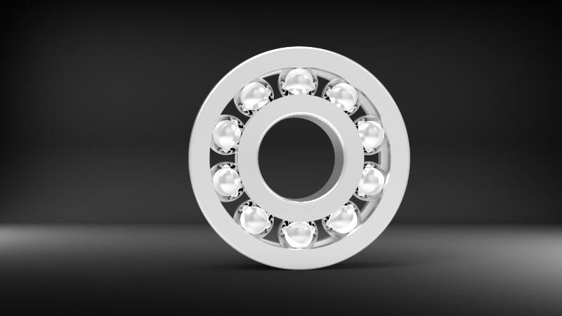 SolidWorks模型免费下载:滚珠轴承