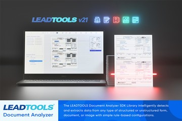 LEADTOOLS资讯:使用文档分析器SDK改善和工作流程