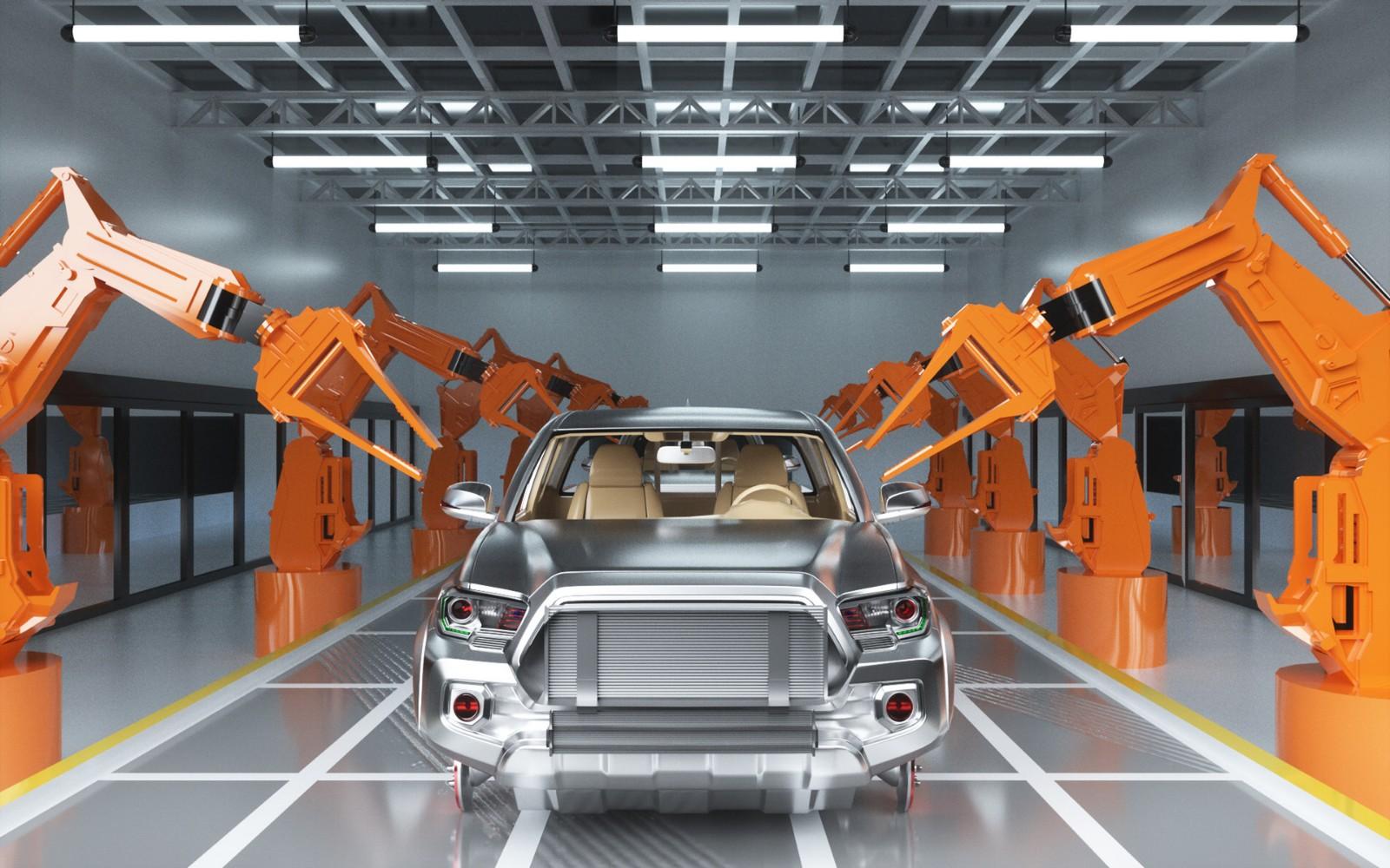 智能制造见证一辆车的诞生,告别过去简单粗放式的生产