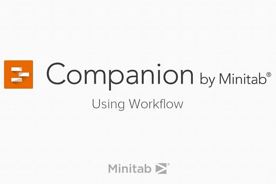 Companion by Minitab视频教程:使用工作流程
