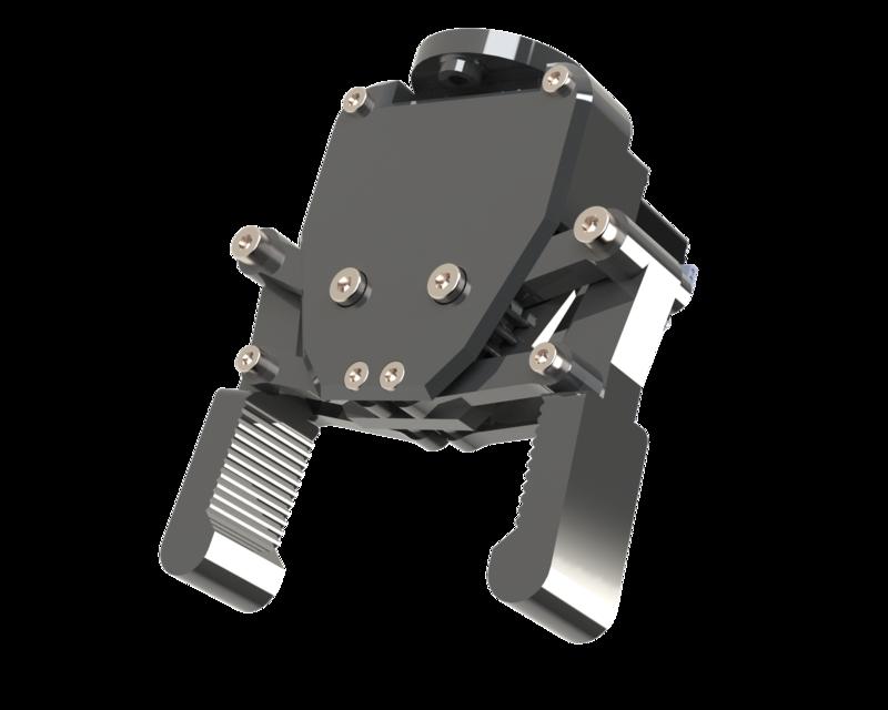 SolidWorks模型免费下载:机器人手臂抓手