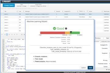 Parasoft将人工智能(AI)和机器学习(ML)引入了针对安全关键型市场的软件测试自动化中