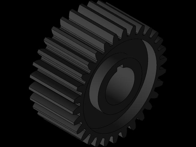 SolidWorks模型免费下载:齿轮