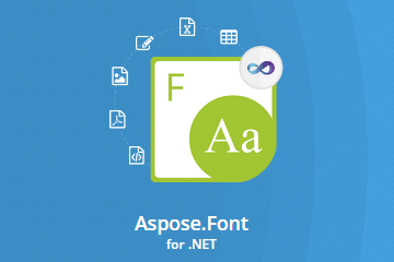Aspose.Font