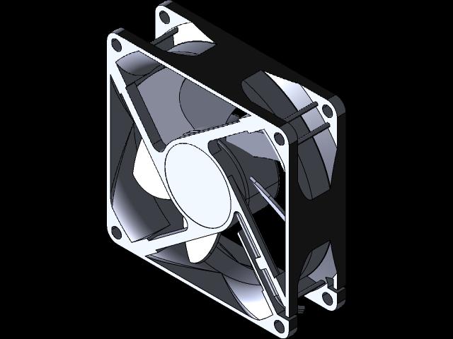 SolidWorks模型免费下载:风扇