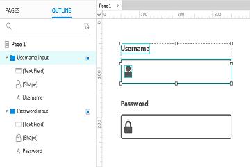 原型设计工具Axure RP参考(六):小部件组