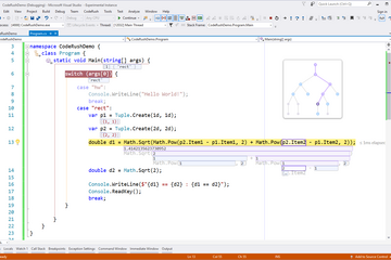 CodeRush for Visual Studio预览:Visualize Code. Intuitively Debug