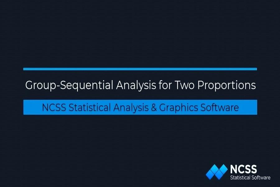 NCSS教程之二十四:NCSS中两个比例的组序分析