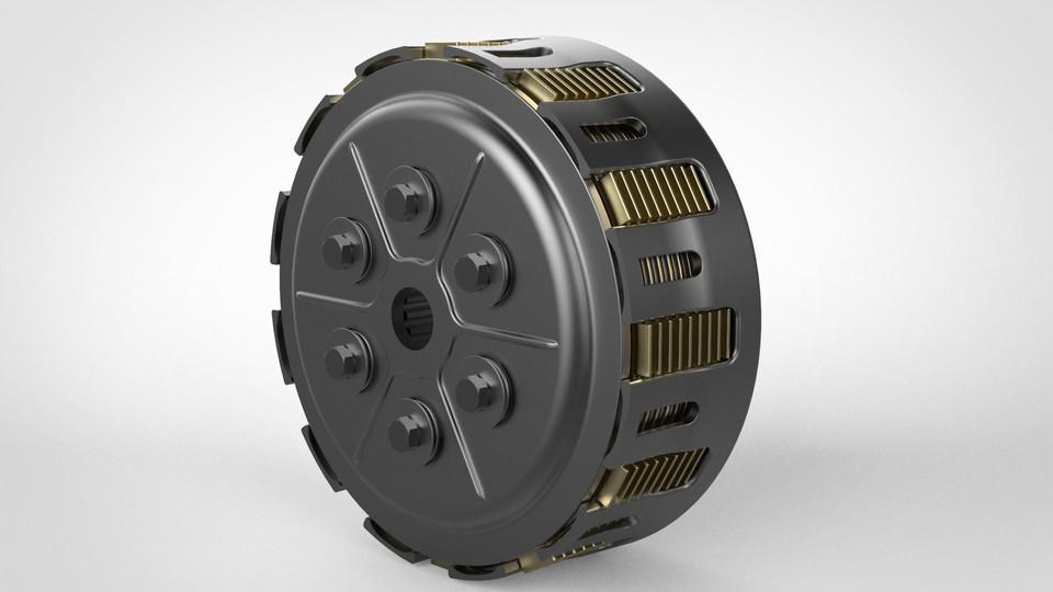 SolidWorks模型免费下载:离合器