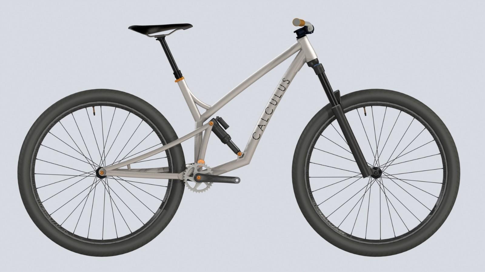 SolidWorks模型免费下载:山地自行车