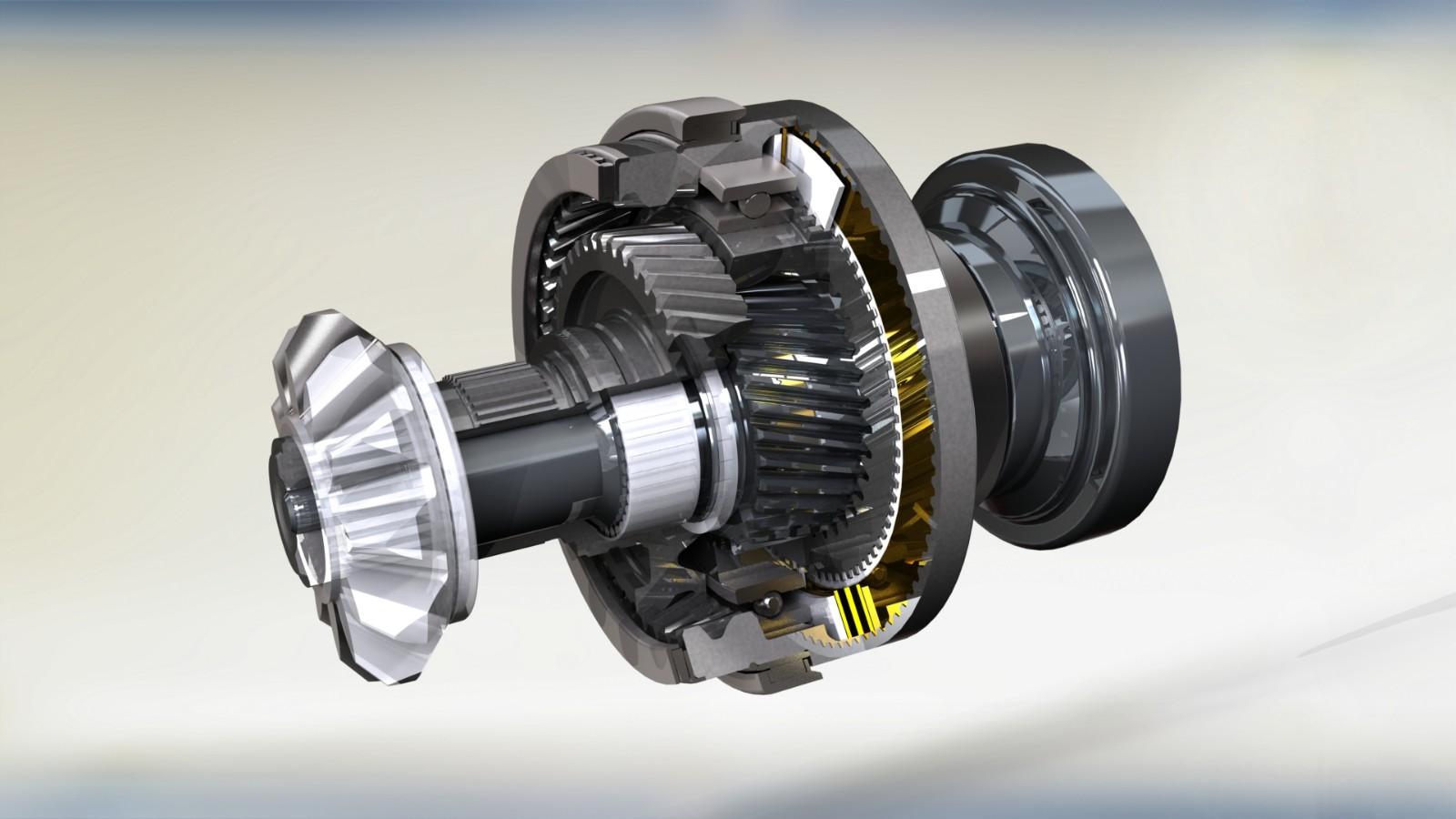 SolidWorks建模实例:奥迪A6 quattro运动型差速器