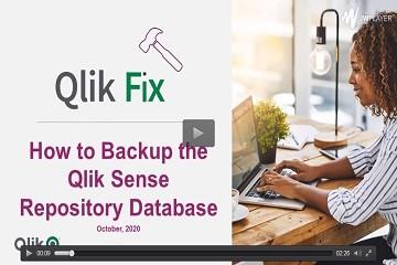 BI工具Qlik教程:备份和还原Qlik Sense知识库数据库