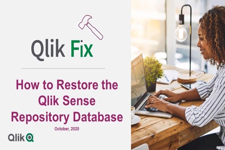 Qlik视频教程:如何从备份还原Qlik Sense存储库(QRS) ?