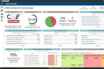 最全行业认证标准支持(三):Parasoft的CWE合规性