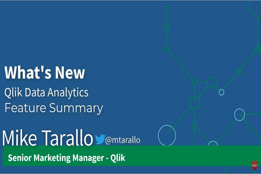 Qlik数据分析的新内容--2020年11月
