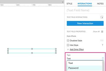原型设计工具Axure RP参考(十五):文本字段和文本区域小部件