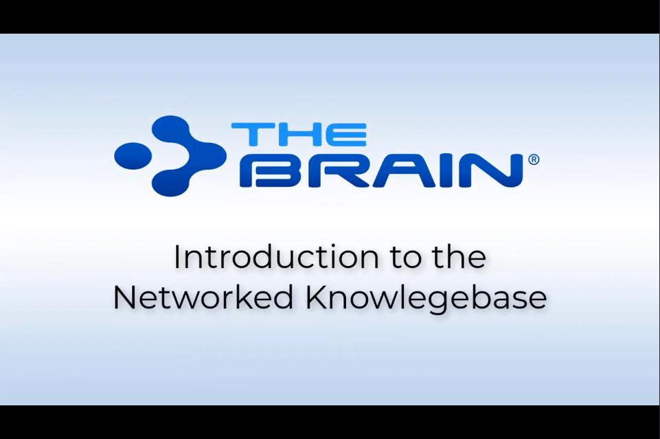 TheBrain 12新功能网络研讨:用TheBrain 12连接思想和数据源