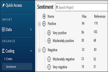 质性数据分析软件NVivo教程:自动编码情感
