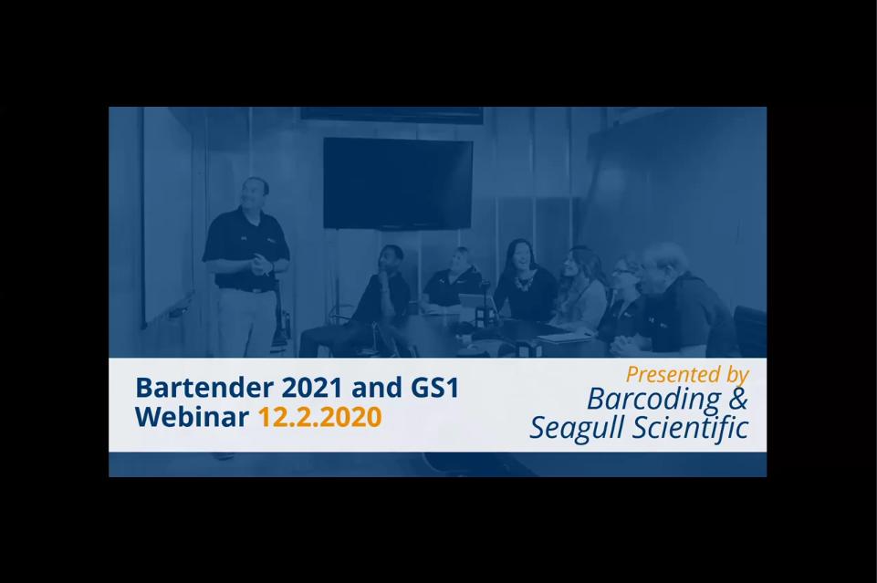BarTender 2021和GS1:如何解决2021年的关键物料搬运和可追溯性挑战