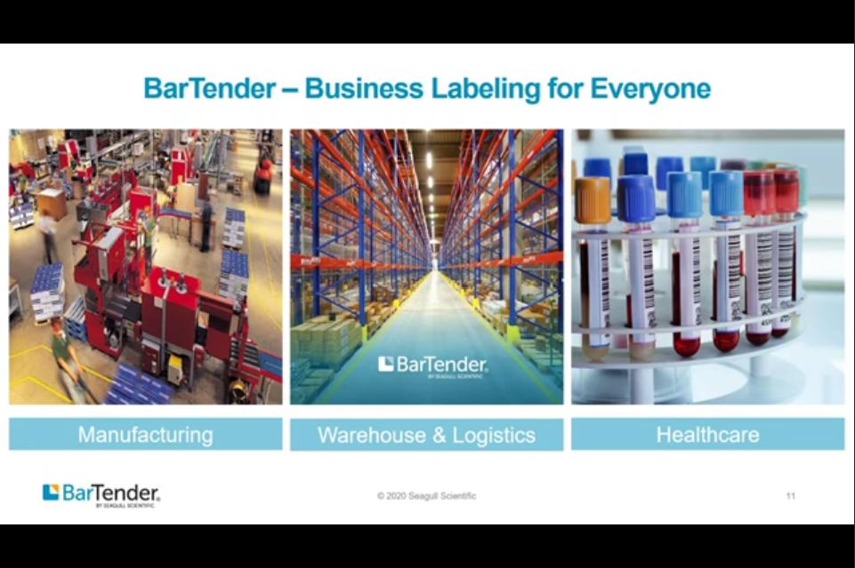 BarTender 2021新版介绍