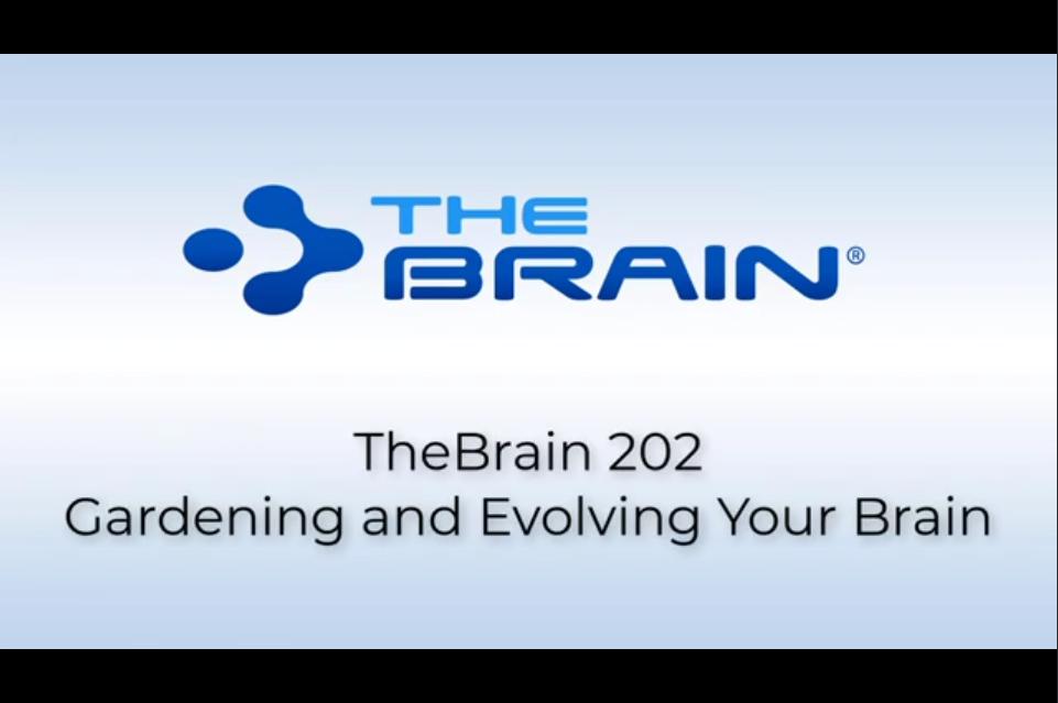 TheBrain 202网络研讨会节日特别版:整理您的想法并轻松地编辑您的大脑