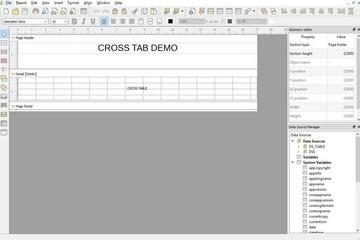 NCReport预览:QT报表设计器表格