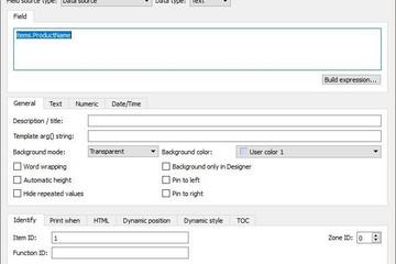 NCReport预览:QT报表设计器字段