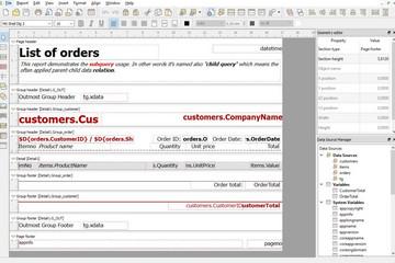 NCReport预览:QT报表设计器